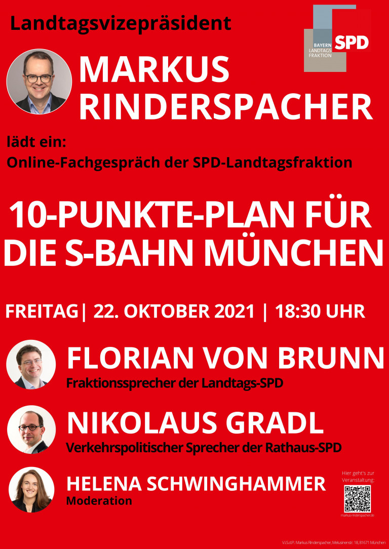10-Punkte-Plan für S-Bahn München